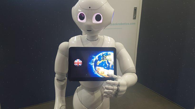Es wird ernst: Robotik war eines der Leitthemen der CeBit 2017.