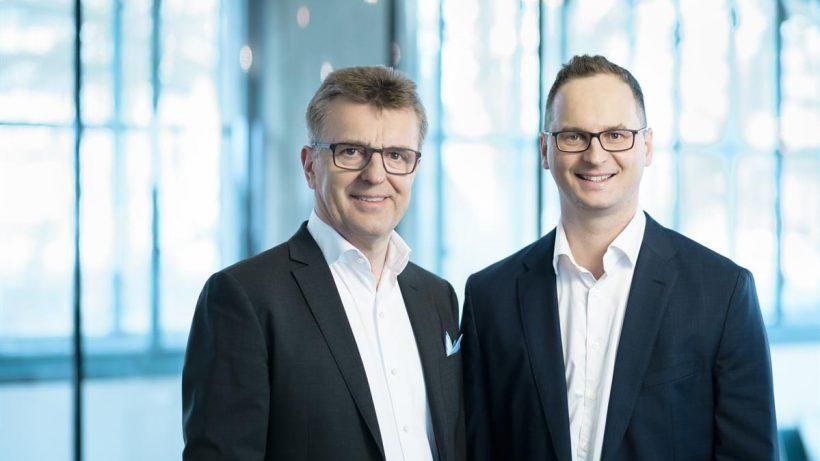 Die beiden Founder - Emmerich Danner und Franziskos Kyriakopoulos