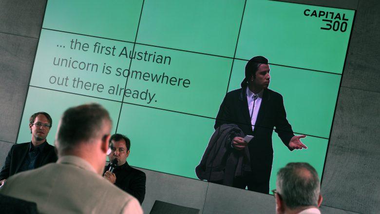 Bei der Pressekonferenz von Capital300. © Trending Topics