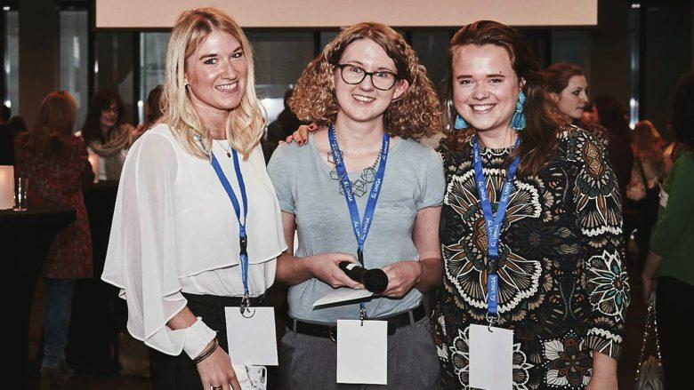 Tanja Sternbauer, Nina Wöss und Lisa Fassl. © Female Founders