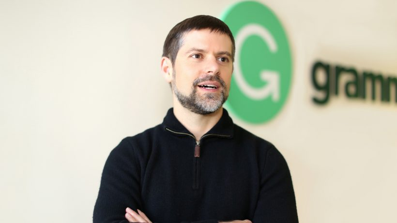 Grammarly-CEO Brad Hoover. © Grammarly