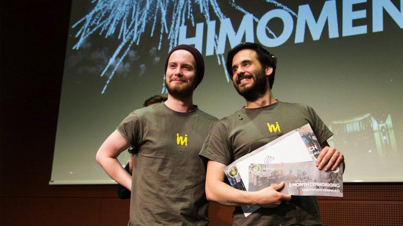 Christoph Schnedlitz und Jan Hrubý von hiMoment. ©Tamas Künsztler