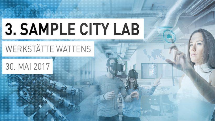 Am 30.05.2017 steigt das Simple City Lab in der Werkstätte Wattens ©TRENDONE