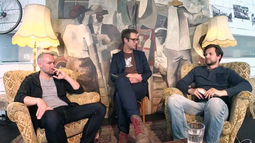 Niko Alm (Business Angel), Bastian Kellhofer (Trending Topics) & Armin Strbac (Shpock). © Trending Topics
