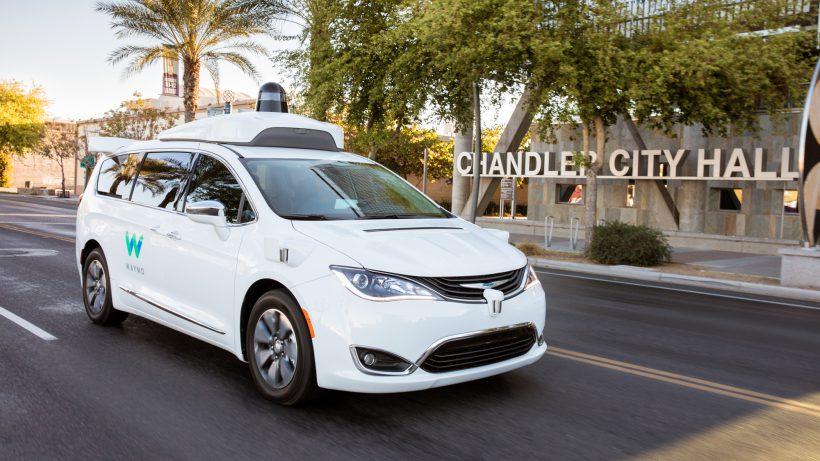 Waymo rüstet Minivans mit seiner Technologie aus. © Waymo