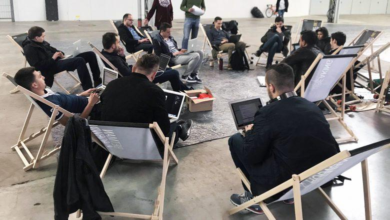 Szene von der We Are Developers-Konferenz in Wien. © We Are Developers/Facebook