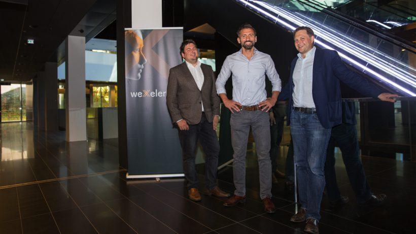 Andreas Tomek (KPMG), Hassen Kirmaci (CEO weXelerate), Michael Petritz (KPMG). © KPMG