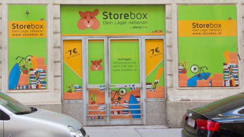 """Die """"Storebox"""" im 1, Wiener © Store.me"""