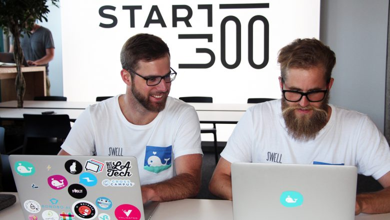 Philipp Holly und Manfred Strasser vom Startup Swell. © Jakob Steinschaden