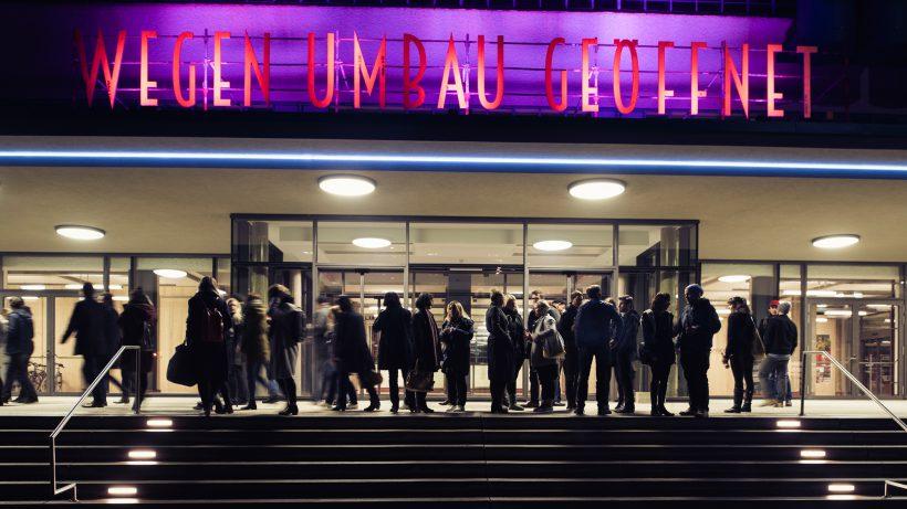 Wegen Umbau geöffnet: Die Tabakfabrik als Epizentrum des neuen Linz. © Tabakfabrik