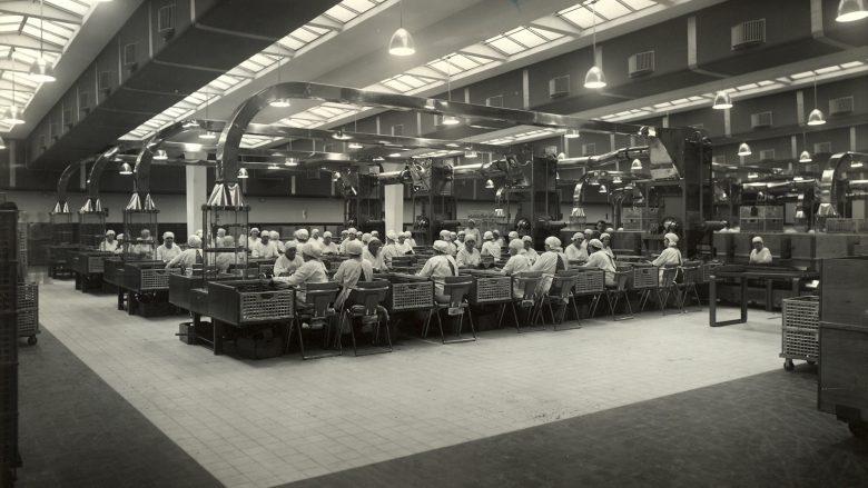 In der Tabakfabrik wurden früher, ja, Zigaretten produziert. © Austria Tabak