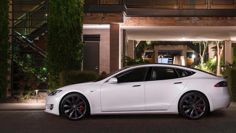 Tesla Model S. © Tesla Motors