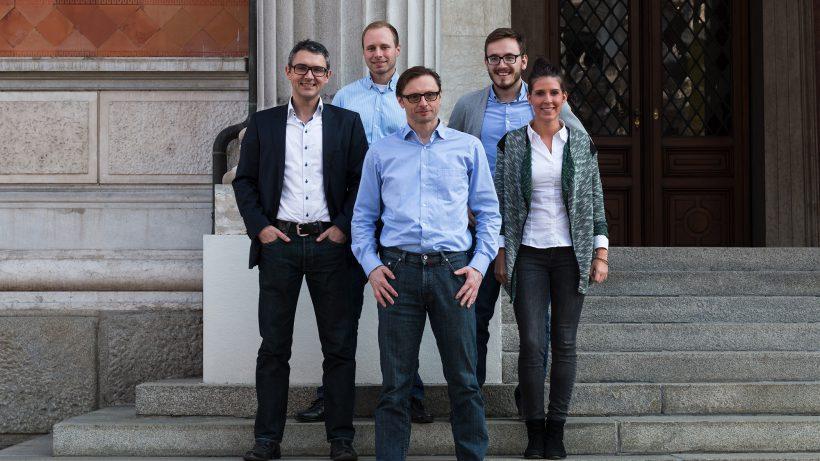 Wikifolio-Team rund um Gründer Andreas Kern. © Wikifolio