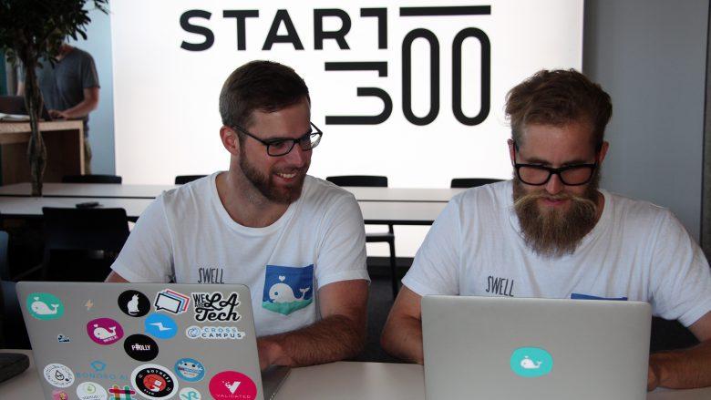 Philipp Holly und Manfred Strasser vom Startup Swell. © Jakob Steinschaden