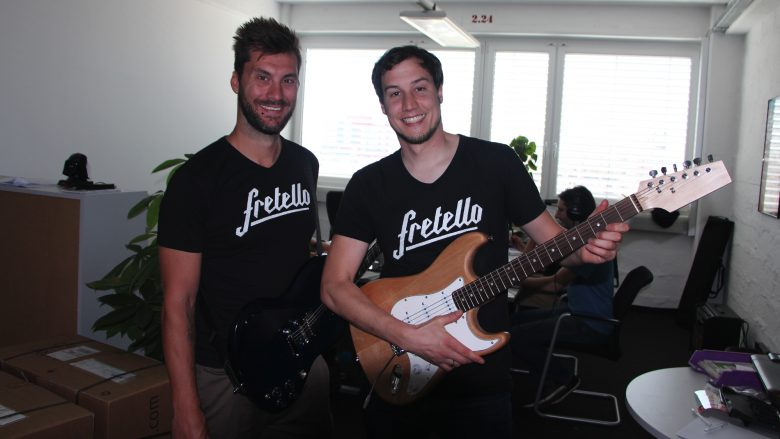 Florian Lettner (CEO) and Wolfgang Damm (CTO) vom Linzer Startup Fretello. @ Jakob Steinschaden