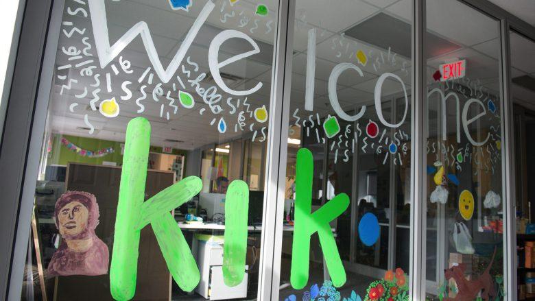 Jugendlich, bunt, freundlich - so gibt sich die Messaging-App Kik. © Kik.com