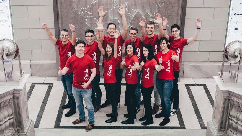 Das Studo-Team beim Fotoshooting. © Studo
