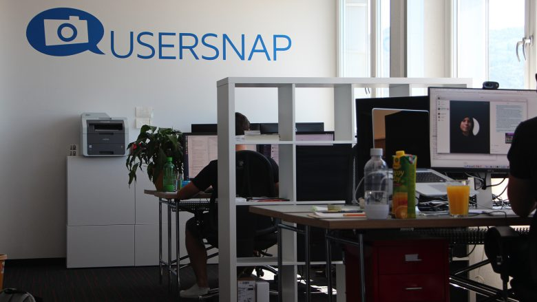 Auch Usersnap hat sich in der Neuen Werft in Linz einquartiert. © Jakob Steinschaden