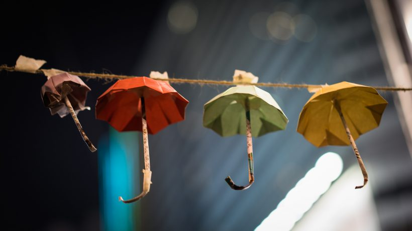 300.000 Regenschirme haben sich in Luft aufgelöst. © flickr_cc2.0_Studio Incendo