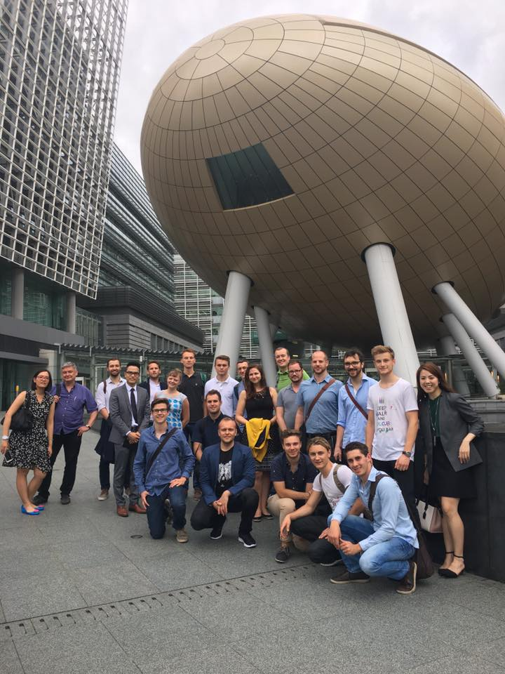 """Die Teilnehmer der """"Go Hongkong""""-Reise. © privat"""