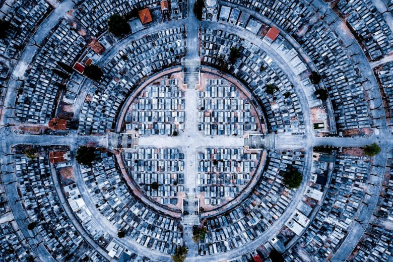 "3. Platz Kategorie ""Urban"". © luckydron/Dronestagram"
