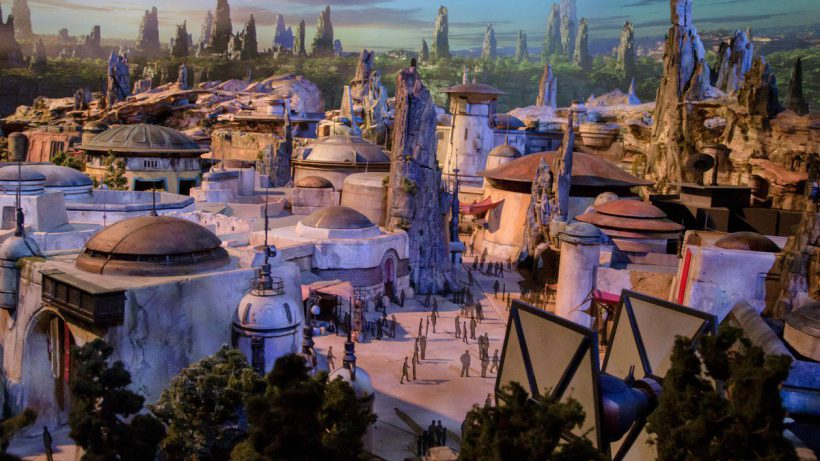 Star Wars Land. © Disney