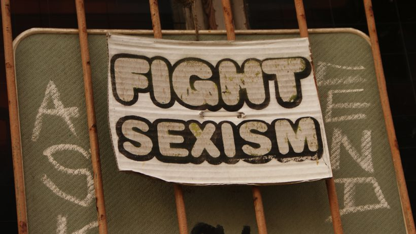 Fight Sexism! © Daniel Kruczynski/Flickr (CC BY-SA 2.0)