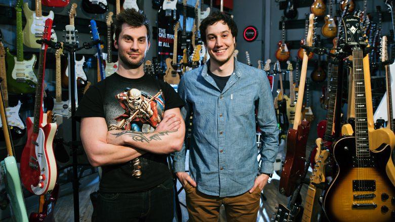 Die Fretellp-Gründer Florian Lettner (CEO) and Wolfgang Damm (CTO). © Fretello