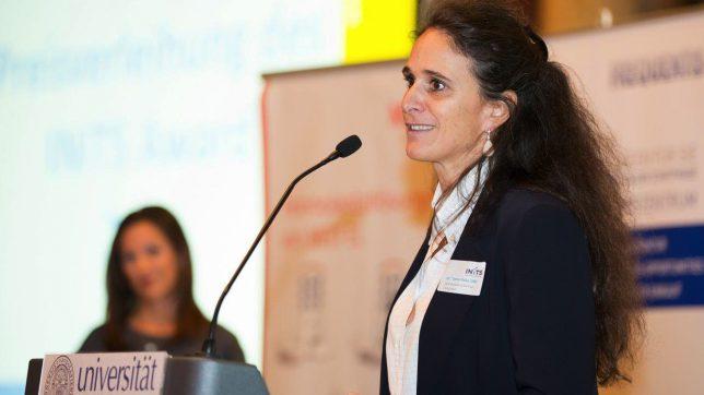 Irene Fialka, Geschäftsführerin des universitären Gründerservice INiTS. @ INiTS
