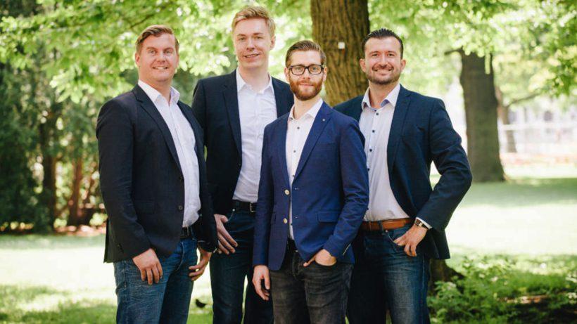Das JobRocker-Team: Günther Strenn, Klaus Furtmüller, Martin Pauer, Gregor Weihs. © JobRocker