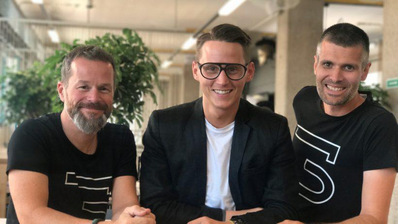 Bernhard Lehner (startup300), Janis Jung (mooci) und Michael Eisler (startup300). ©startup300
