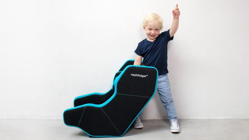 Kind mit Kindersitz. © nachfolger.com