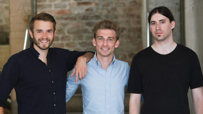 Peter Windischhofer, Kilian Kaminski und Jürgen Riedl von Refurbed. © Refurbed