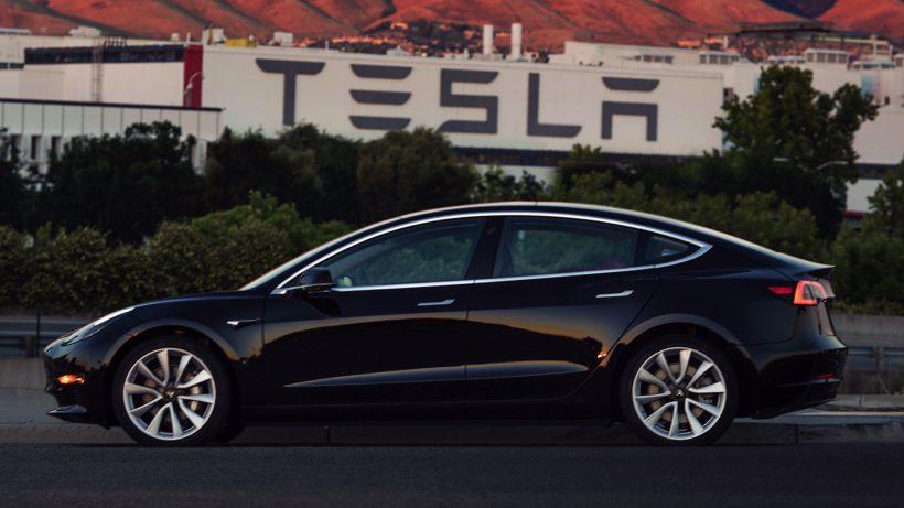 Das erste Tesla Model 3. © Tesla Motors
