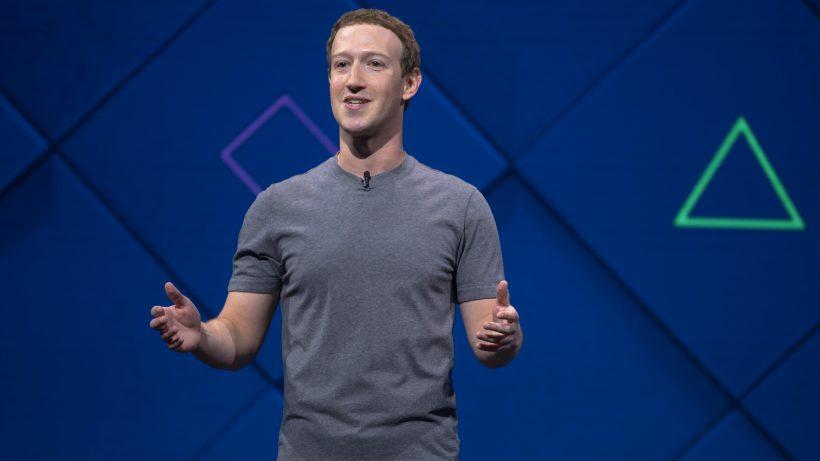 Wie immer in Grau: Mark Zuckerberg. © Facebook