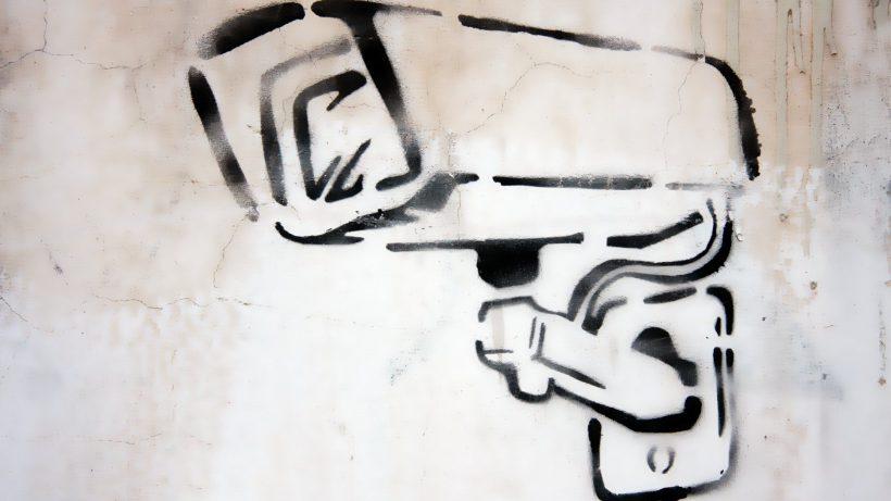 CCTV-Graffiti. © Pixabay