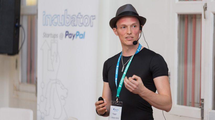 TenX-CEO Toby Hönisch. © PayPal