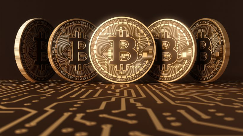 Bitcoins. © Shutterstock/Robin Consult