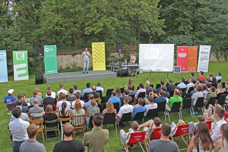 Rund 200 Gäste kamen zur Sommerausgabe des Startup Spritzer in Graz. © Ideentriebwerk Graz