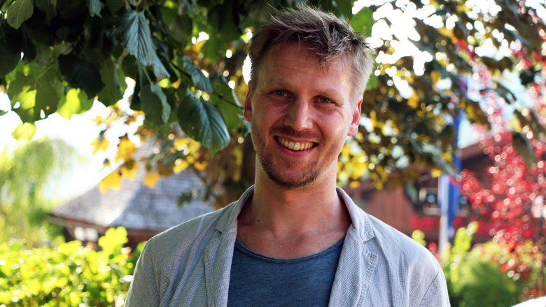 Johannes Bintinger von der TU Wien. © Jakob Steinschaden
