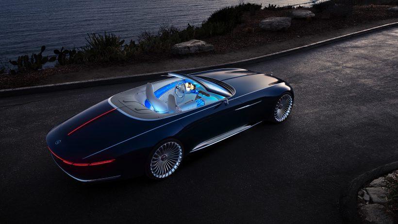 Mercedes-Maybach 6 Cabriolet. © Daimler