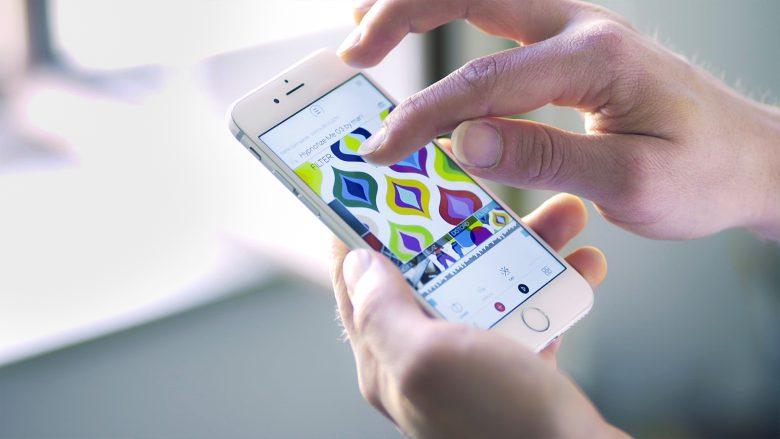 Mikme-App kommuniziert via Bluetooth mit dem Aufnahmegerät. © Mikme.