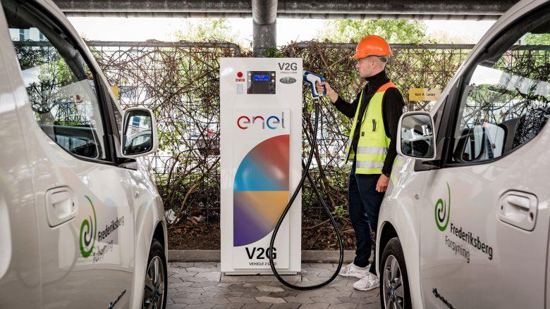 Nissan und Enel starten V2G-Projekt in Dänemark. © Nissan