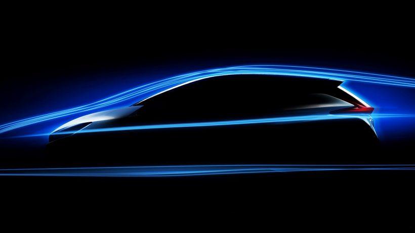 Teaser-Bild des kommenden Nissan Leaf. © Nissan