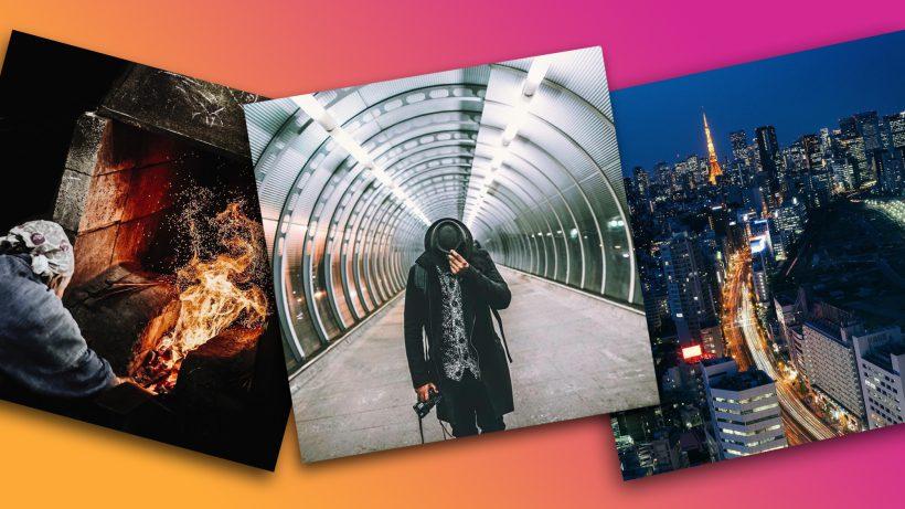 Bilder aus Sonys Instagram-Kampagne. © Bobby Anwar/Dan Rubin/Sony