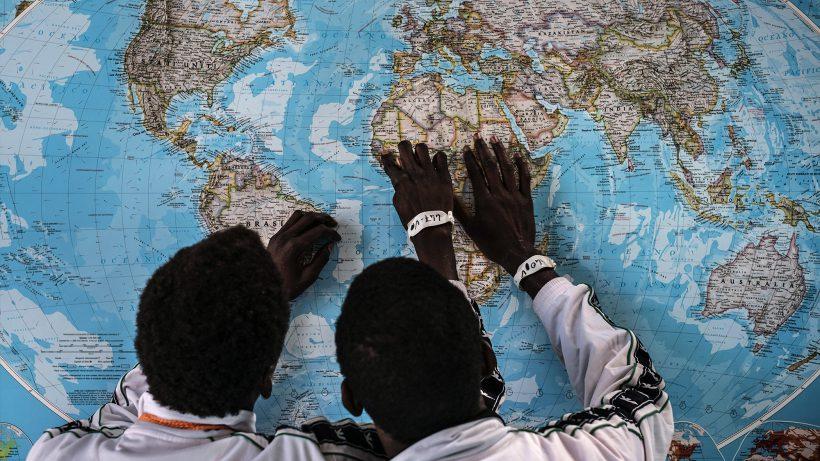 Flüchtlinge aus Gambia in Sizilien. © UNICEF