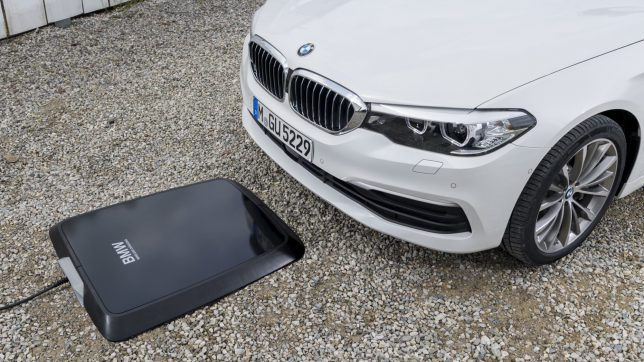 Der Wireless Charger von BMW. © BMW
