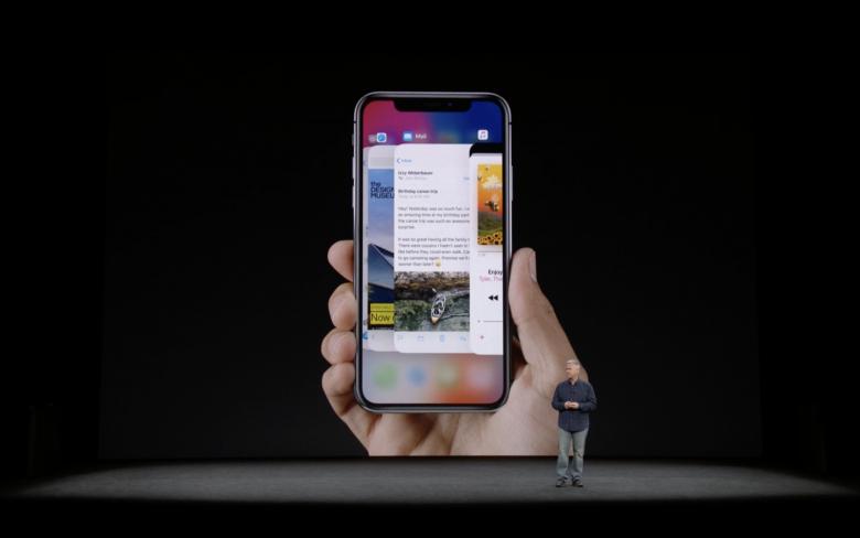 Das iPhone X. © Apple