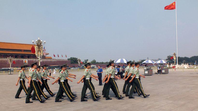 Sicherheitskräfte am Platz des Himmlischen Friedens in Peking, China. © Pixabay