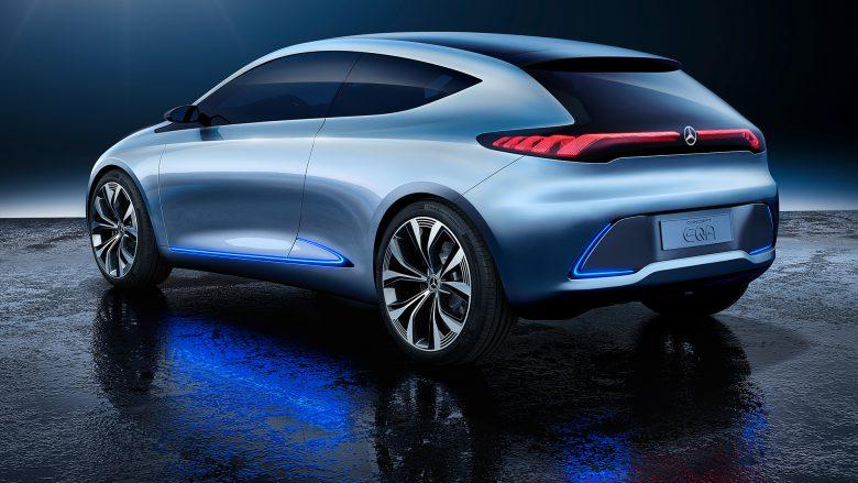 Mercedes-Benz Concept EQA. © Daimler
